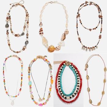 Miwens New Za Design Shell Chokers Necklaces For Women Fashion Summer Beach Seashell