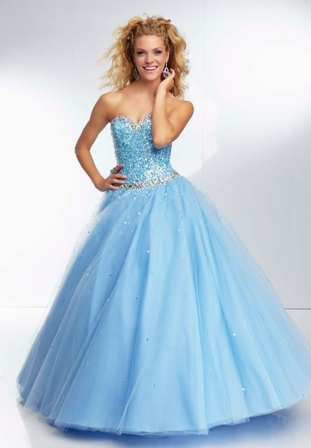 856cca62ca Sweet 15 Year Girls Yellow Quinceanera Dresses 2016 Hot Sale Sparkly  Sequins Top Tulle Ball Gown