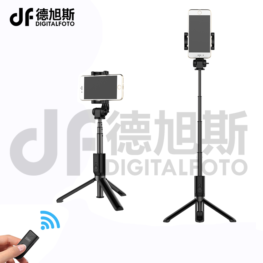 DIGTIALFOTO Handheld mini table Tripod Monopod Phone Selfie Stick wireless Bluetooth Remote Shutter for iPhone Sumsang