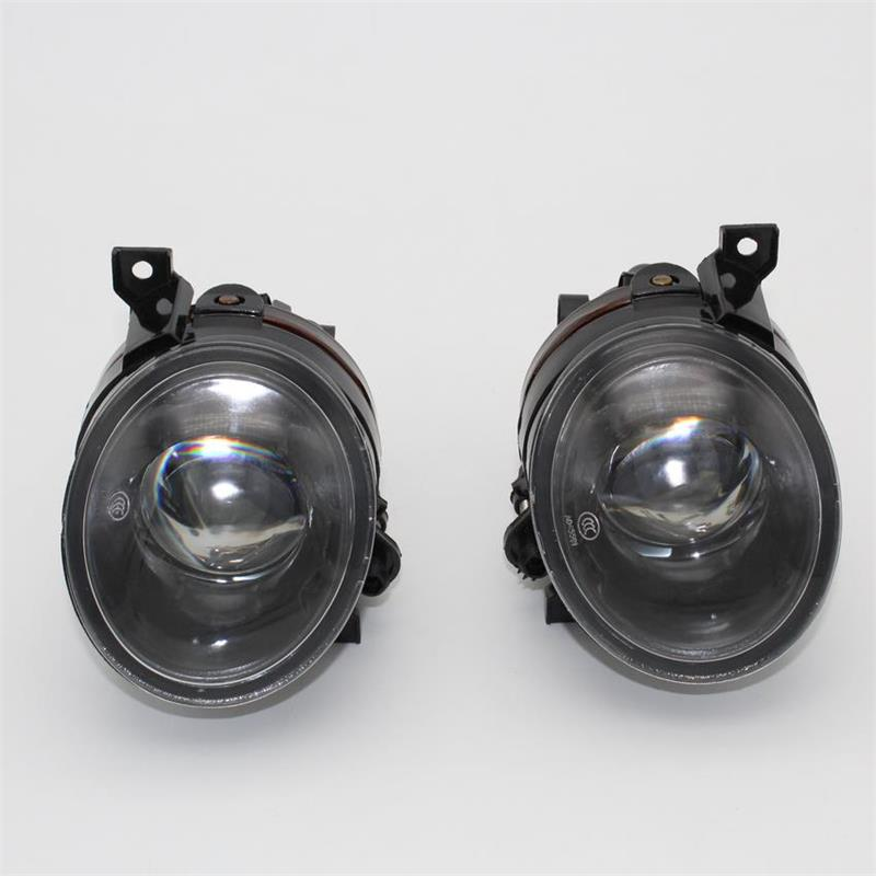 For VW Jetta V MK5 2006 2007 2008 2009 2010 2011 Car-styling Front Bumper Halogen Fog Light Fog Lamp With Convex Lens front fog lights for nissan qashqai 2007 2008 2009 2010 2011 2012 2013 auto bumper lamp h11 halogen car styling light bulb