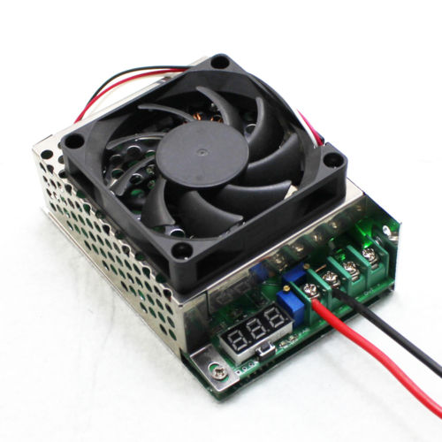 600W Boost DC Converter Step-up Power Supply Module With Fan Case LED Display