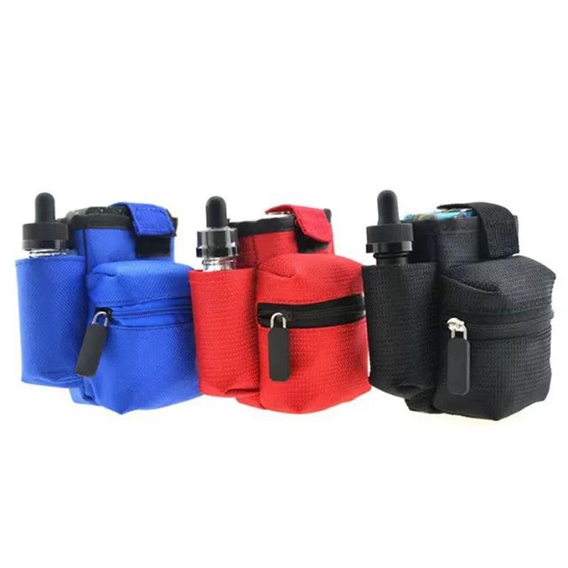 1PCS Vapor Pocket E Cig Case Double Deck Vapor bag vape mod carrying Case For Box Mod kit Wasit Bag 3 Colors