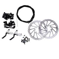 160mm G3 bicycle alloy mechanical disc brake assembly rotor brake lever cable ultra light aluminum single adjustable disc brake