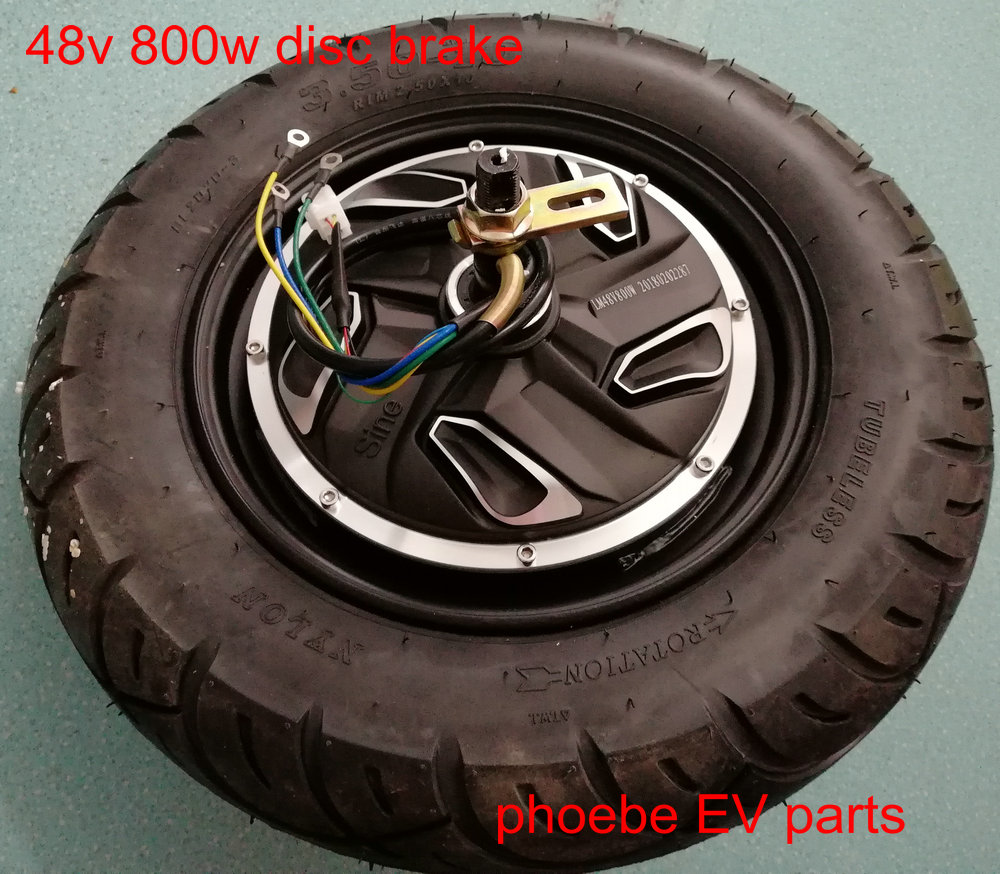 10inch BLDC motor 48v60v72v 500w800w1000w 1500w drum brake/disc brake with 10*3 or 10*3.5 tyre electric scooter motorcycle parts motorcycle parts black brake