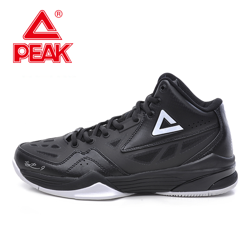 PEAK SPORT Tony Parker Exclusive Signature New Men Basketball Shoes Training Series FOOTHOLD Cushion-3 Tech Sport Boots EUR40-50 peak sport speed eagle v men basketball shoes cushion 3 revolve tech sneakers breathable damping wear athletic boots eur 40 50