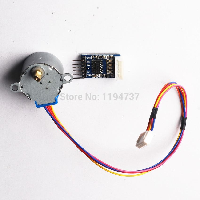 3lot 5v 4 phase 28ybj 48 dc gear step 3pcs stepper motor for 5 phase stepper motor driver