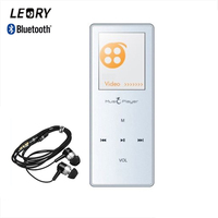 LEORY X01 Bluetooth MP3 HIFI Lossless Music Player MP3 Player 8GB 1 8 Inch Touch Screen