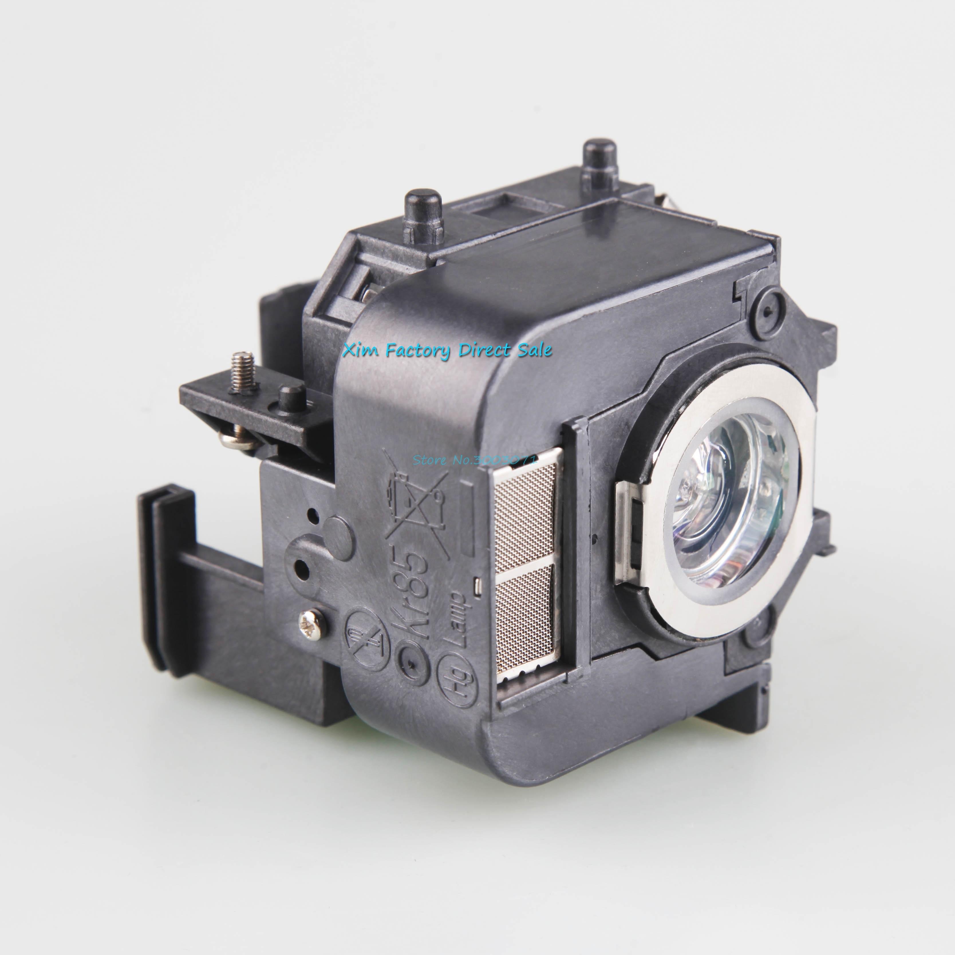 פנסים מופעלי סוללות ELPL50 V13H010L50 מקרן מנורה עם 85 לדיור Epson Powerlite, 825, 826W, EB-824, EB-824H, EB-825H, EB-826WH, EB-84H (2)