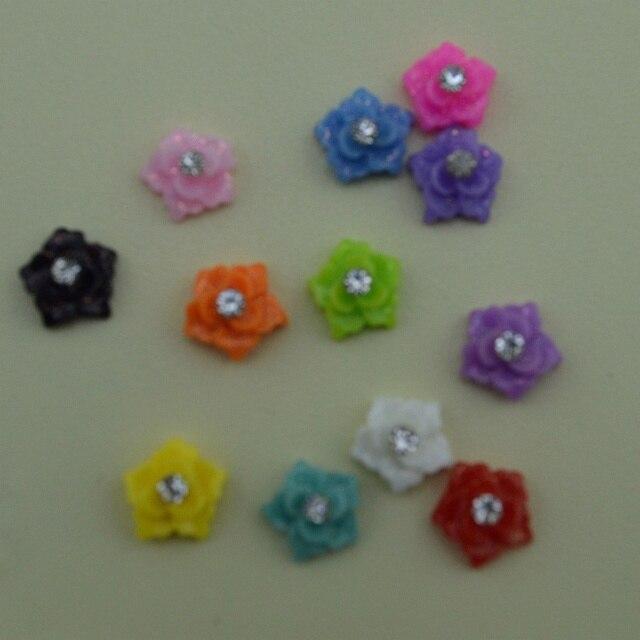 Nail Art Decorations Flower 3d Nail Art Canes Resin Nail Art Box