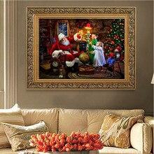 Diamond Painting Santa Winter Hot Sale Embroidery Cross Stitch Home Decoration