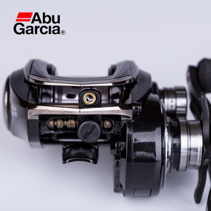 Abu Garcia REVO SLC-IB8 Left Right Hand Baitcasting Reel Japan Style Ultra-Light Universal Fishing Reel 9+1BB 8.0:1 Drag 5.5kg nunatak original 2017 baitcasting fishing reel t3 mx 1016sh 5 0kg 6 1bb 7 1 1 right hand casting fishing reels saltwater wheel