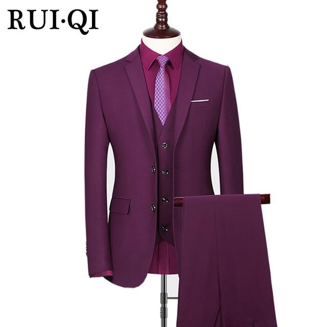 3 pièces De Mariage Hommes Costume 2018 Gris Nouvelle Mode Partie de Robe  Slim Fit Costume 3f2d9fb6696