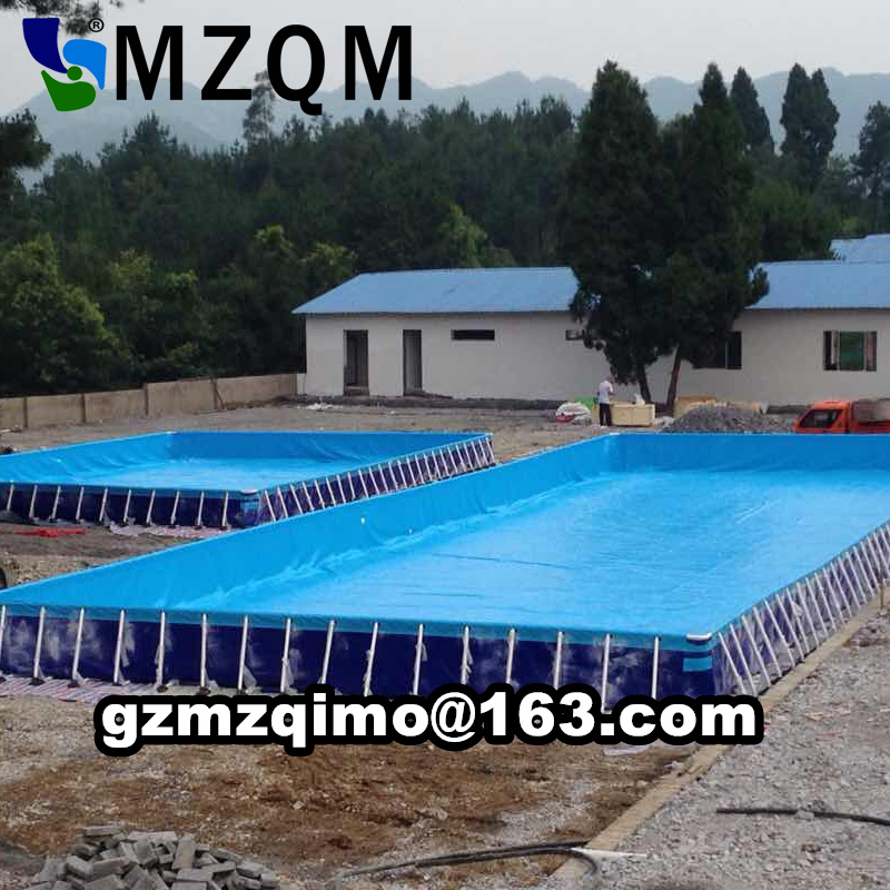 Qualified Metal Steel Frame Structural Swimming Pool,Stents Swimming Pool for sale