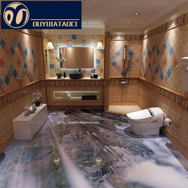 Best quality 3D floor tiles Polished Crystal Full body Tile Bathroom ...