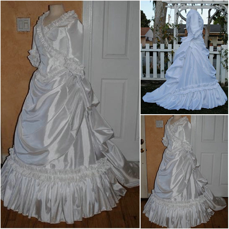 Halloween R Bal guerre Robe Victorienne Belle Vintage 049 Custom Southern Made Lâche Civile De Gothique Robes rvPrwqg