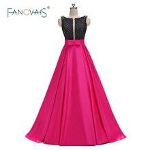 새로운 도착 블랙과 자홍색 댄스 파티 드레스 이브닝 가운 장식 톱 새틴 라인 이브닝 드레스 정장 파티 드레스 롱 ED01