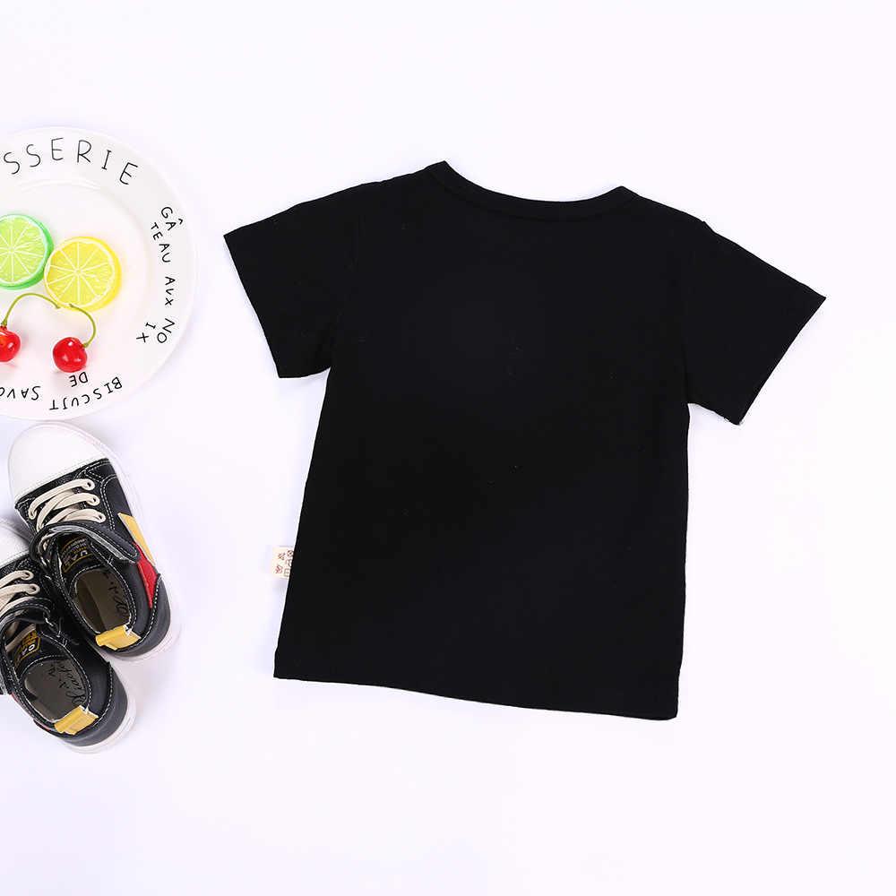 b1eb1d1cbc8 ... Kids Summer Shirt Short Sleeve T-shirt Boy M&M's Character Girl Tops  Fashion Children T