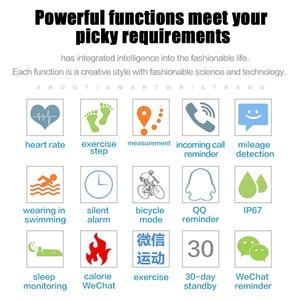 Image 3 - HORUG Smart Wristband  Waterproof Fitness Tracker Smartband Activity Tracker  Run Setep Walking Bracelet  Heart Rate Monitor