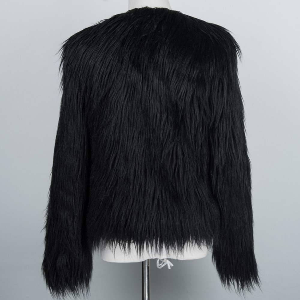 Chic Soft Faux Fur Coat 16