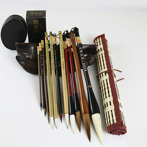 Image 2 - Traditional Chinese Painting Brush Set Soft Woolen Hair Chinese Calligraphy Brushes Ink Painting Hook Line Pen Painting Supplies