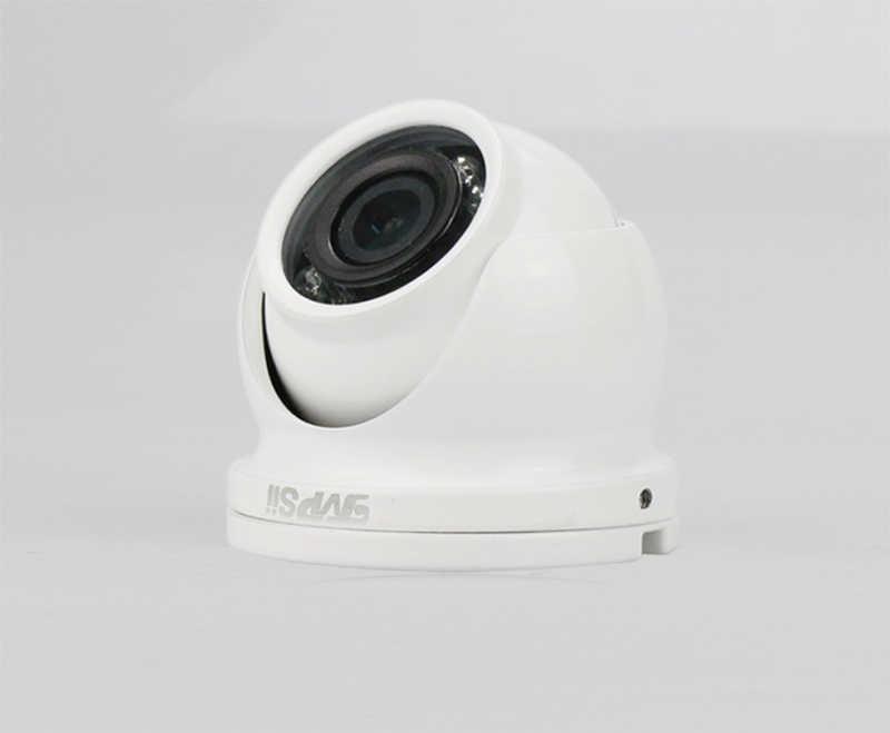 12Pcs Infrarood Leds 5mp/4mp/2mp Cmos Witte Kleur Outdoor IP66 Mini Dome Ahd Cctv Surveillance Beveiliging camera Gratis Shippi
