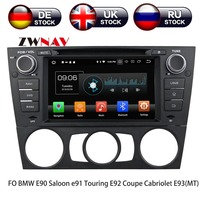Android 8 Car GPS Navigation auto Car DVD CD Player for BMW E90 Saloon E91 Touring E92 Coupe Cabriolet E93 Headunit multimedia