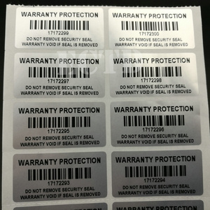 "Image 3 - 1000Pcsรับประกันสติกเกอร์1.57 ""X 0.79"" (40มม.X 20มม.) security Seal Tamper Proofรับประกันต่อสติกเกอร์"