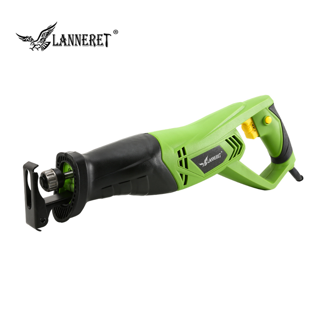 LANNERET 900W Electric Reciprocating Saw Woodworking Metal Cutting Saber Hand Saw Variable Speed Multi-function Power Tools