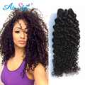 Peruvian virgin hair kinky curly human  hair  no weft 1pc/lot peruvian kinky curly 100%  human hair wholesale for all people