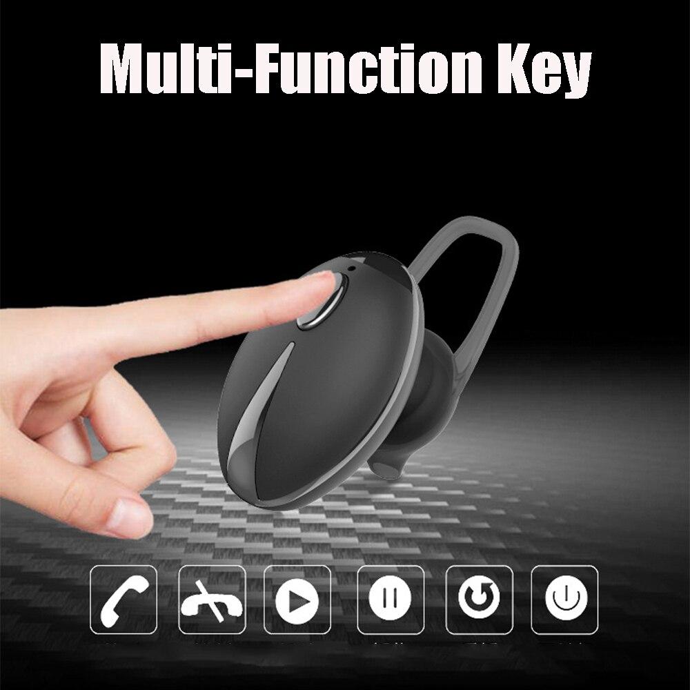 Wireless Earbuds Earphone Bluetooth Headset Fingertip Size invisible wireless headset bluetooth headphone For phone Bluetooth 3