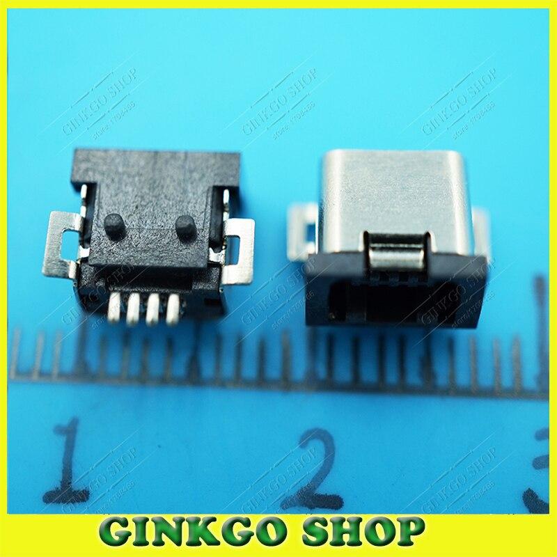 ⊹1000 шт./лот мини зарядка через USB разъем <b>Mini</b> USB 4 P ...