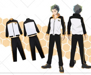 Image 5 - Re: Zero kara Hajimeru Isekai Seikatsu zipper Coat Pants Suit Subaru Natsuki Cosplay Jacket Halloween Costume Sportswear Uniform