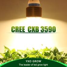 CREE CXB3590 CXB3070 CXA3070 100W 12000LM 3500K COB LED Grow Light Full Spectrum Growing Lamp Indoor Plant Growth Panel Lighting