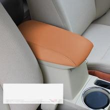Lsrtw2017 Тюнинг автомобилей волокна кожи автомобиль Подлокотник Обложка для toyota corolla 2013 2014 2015 2016 2017 2018 E170