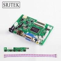 Srjtek VS-TY2662-V2 HDMI VGA 2AV 40/50 Pins PC Denetleyici Kurulu Ahududu PI için 3 EJ101IA-01G 8 bit IPS LCD Ekran Sürücüsü