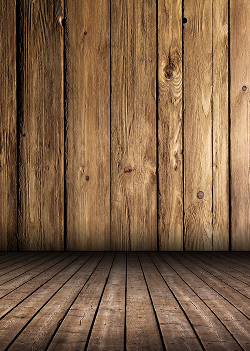 Solid brown wood floor photography background Washable Cotton Polyester Backdrop studio for photo studio  newborn D-2209