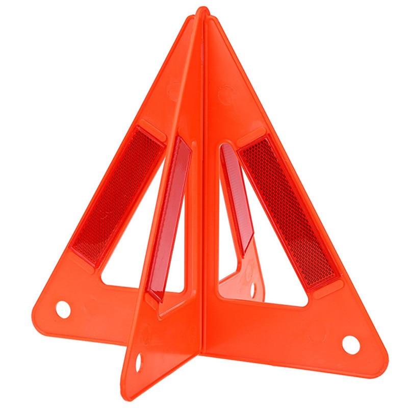 Výstražný trojúhelník automobilu s výstražným trojúhelníkem, bezpečnost, nouzový odraz, flash značka, porucha, vůz, auto