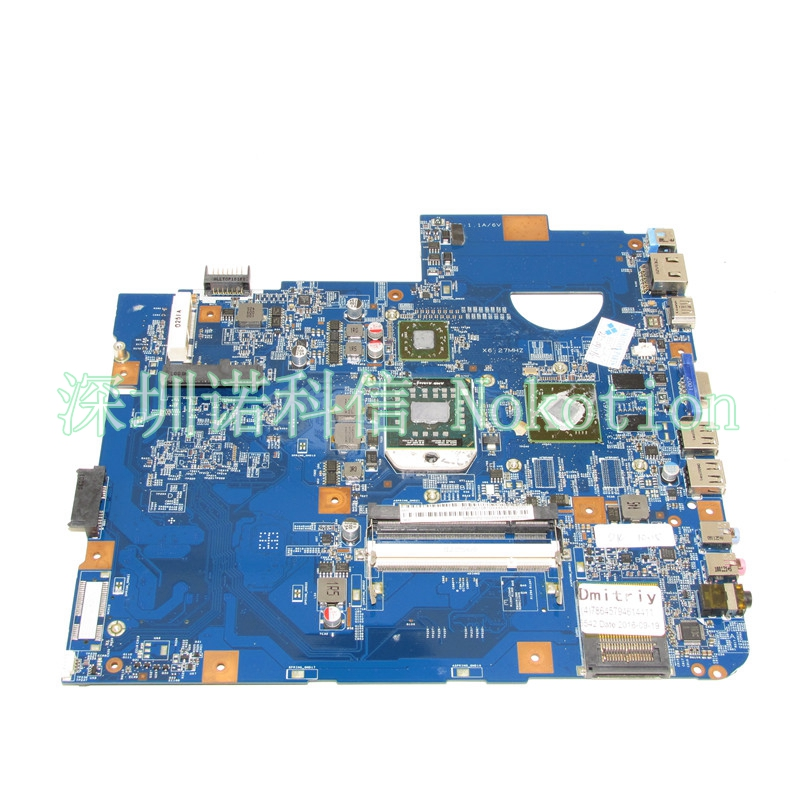 NOKOTION MBPHP01002 Main Board For acer Asipre 5542 laptop motherboard DDR2 HD 4500 MB.PHP01.002 48.4FN02.011 WORKS FREE CPU nokotion laptop motherboard for acer aspire 5542 main board mbpha01001 48 4fn01 011 216 0752001 ddr2 free cpu