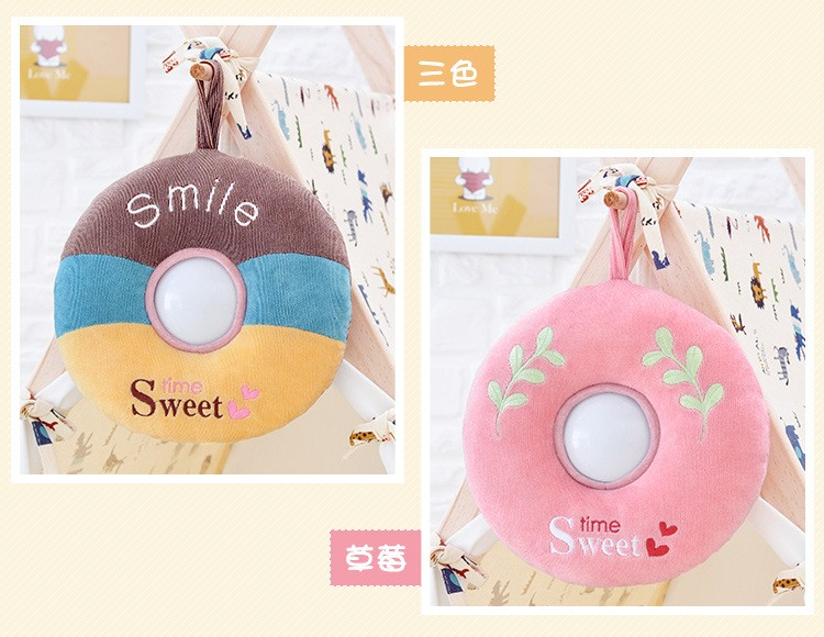 The best gift Metoo donut plush toy Nightlight luminous toy baby toy gift just light sleep comfort children friends (19)