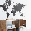 Новая Карта Мира Настенные Наклейки DIY Виниловые Росписи Искусства Гостиная Украшения Карта Мира Стены Стикеры Home Decor