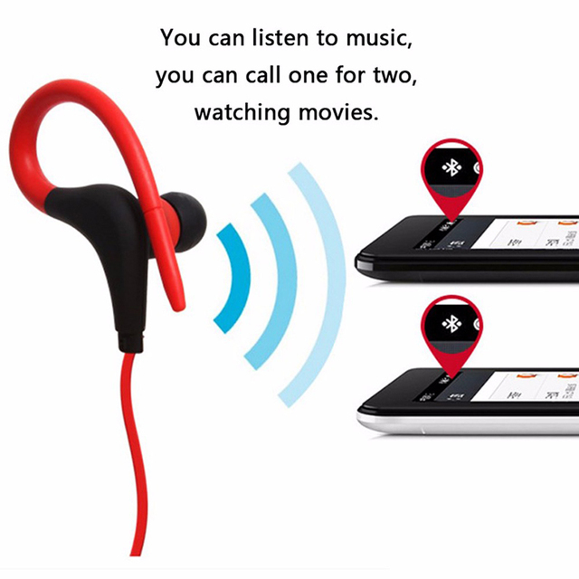 Tendway Sports Bluetooth Earphones Stereo Wireless in ear Handfree Headset for Running Driving Walking Sporting auriculares