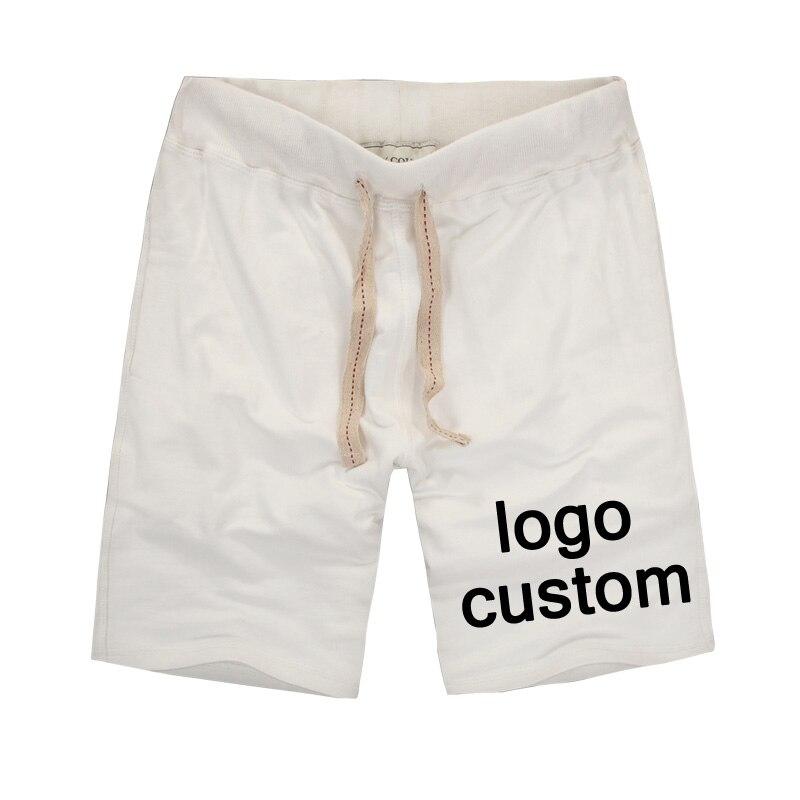 Cotton Men's Shorts Custom Patterns Print Casual Men Shorts DIY Team Work Clothes / Clubs / Groups Custom Clothing Elastic Waist