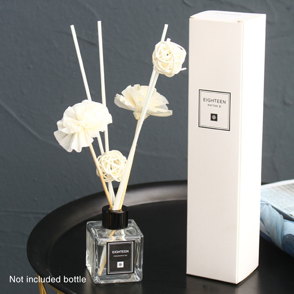 Essential Oil Exquisite Rattan Dry Flower Car Ball Office Fragrance Home Decoration Aroma Diffuser Set Lightweight Spa