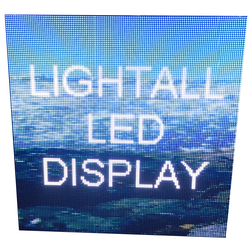 High Brightness Full Color LED Module 192×192mm For P6 Outdoor RGB LED Display Screen