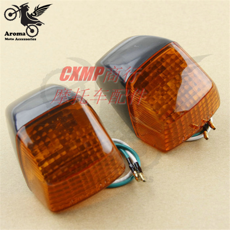 Brand Professional Modified Accessories Part Moto Lamp Amber Indicator Light For Honda CBR250 400 VFR400 Motorcycle Turn Signal