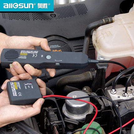 ФОТО Universal Automotive Cable Wire Tracker Short & Open Circuit Finder Tester Car Vehicle Repair Tone Tracer 6-42V DC Tool EM415PRO