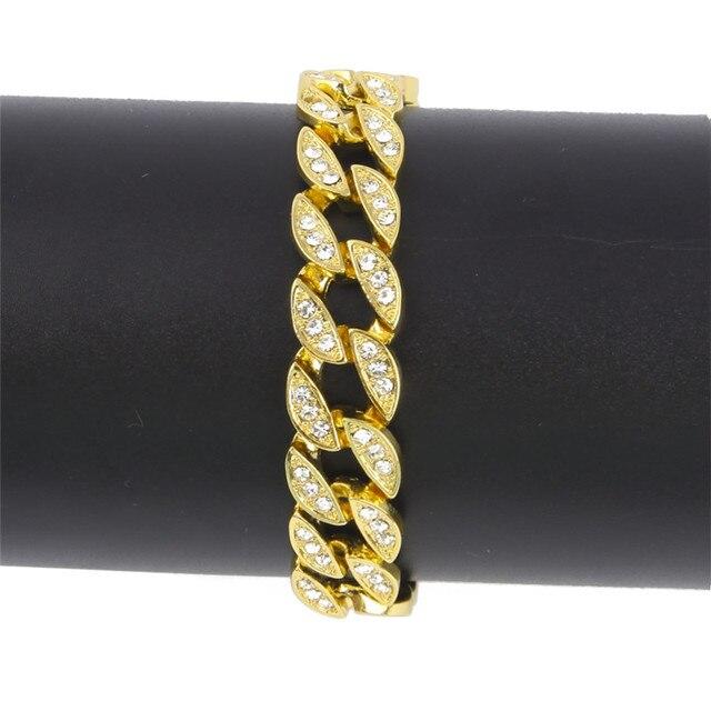 Men Hip Hop Cuban Bracelet...