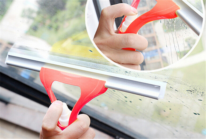 High Quality Spray Type Brushes Cleaning Airbrush Glass Wiper Magnetic Window Brush Cleaner Car Window Wizard Washing Tool