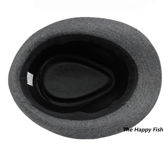 Original Unisex Structured Wool Fedora Hat Fedora hats for men fedora felt hat (12)