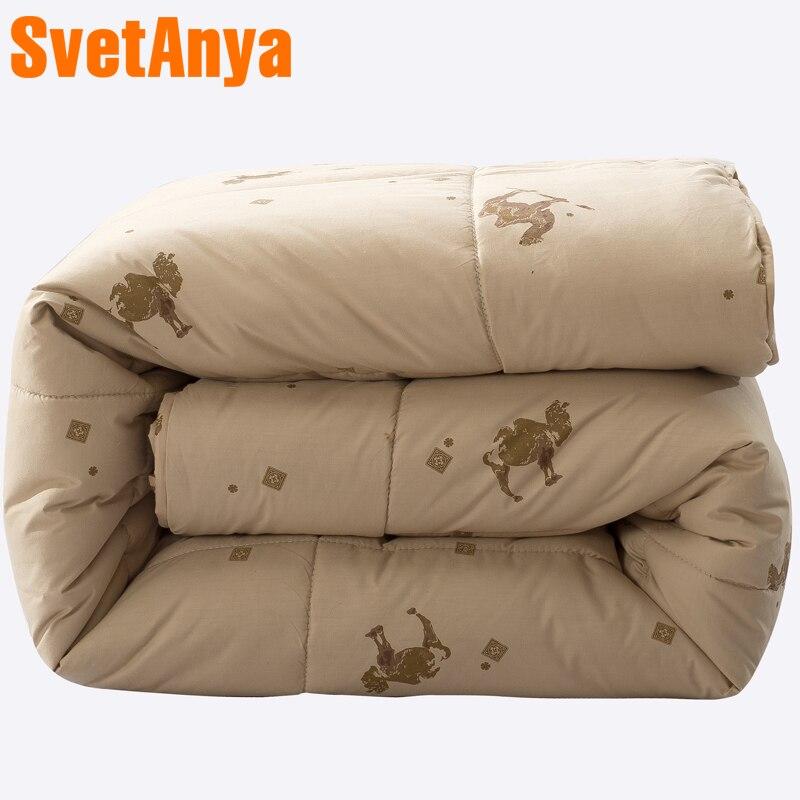 Svetanya stepp Decke winter Quilt 100% kamel haar Füllstoff-in Decken aus Heim und Garten bei  Gruppe 1